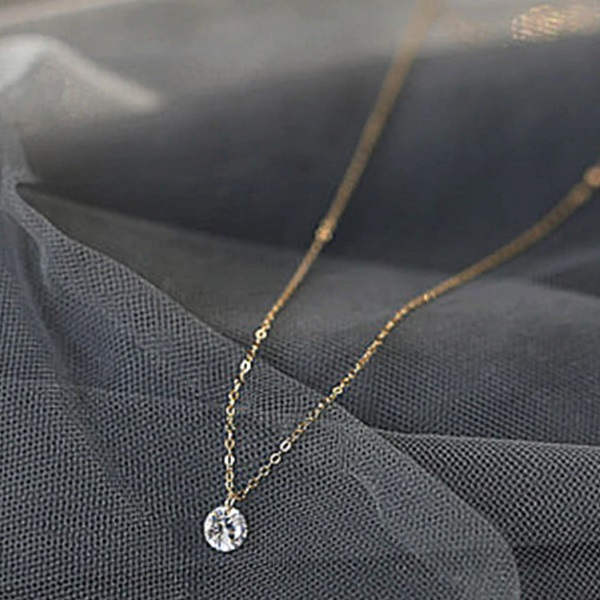 Collar Plata Sterling 925 Bañado en Oro Rosado